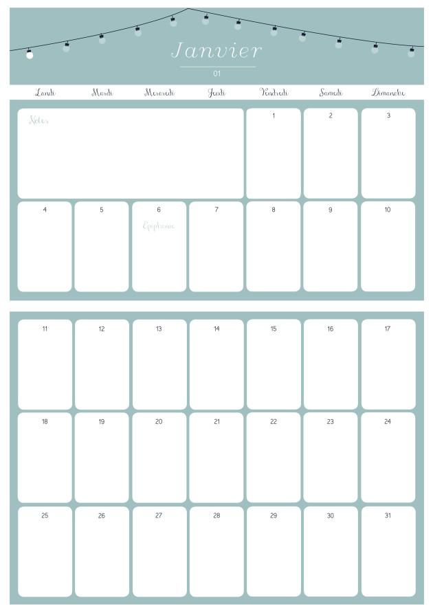 calendrier organisateur familial2015